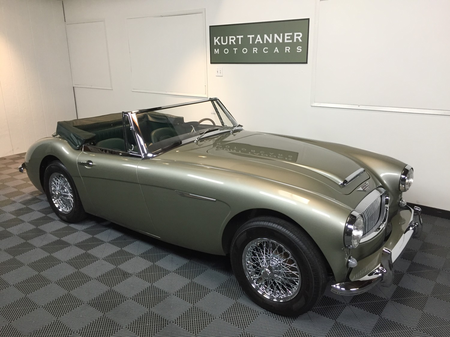 Sage Green Color Wheel Kurt Tanner Motorcars 187 Blog Archive 187 1965 Austin Healey