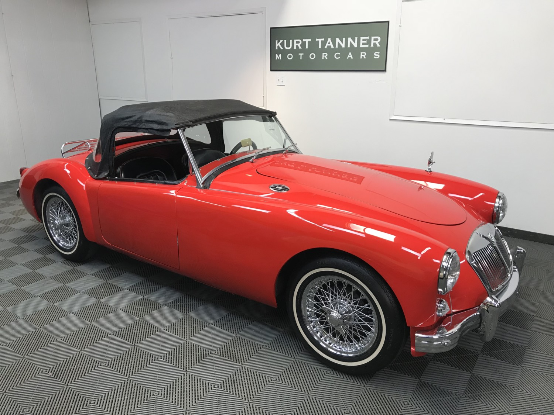 Kurt Tanner Motorcars » Blog Archive » 1958 MGA 1500 ROADSTER. RED ...